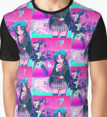 940aa1dff2c6 Kurugaya Thoughts - Retro Vaporwave Future Funk Graphic T-Shirt