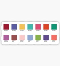 Pantone - Colors of the Year (2007-2019) - Set of 14 stickers Sticker