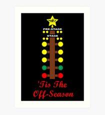Christmas Tree- Drag Racing Inspired Art Print