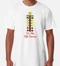 Christmas Tree- Drag Racing Inspired Long T-Shirt