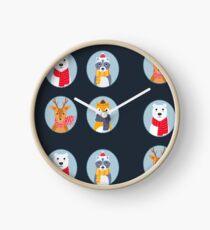 Oh Hi Santa Clock
