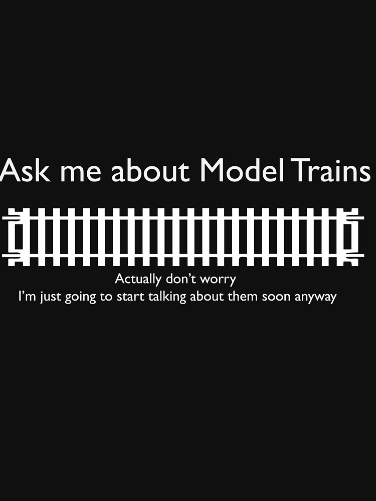 Ask me about Trains Design by modelrailway