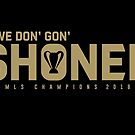 We Don Gon Shoned! by irontooth