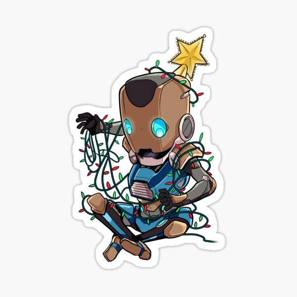 A Very Vect Holiday Sticker