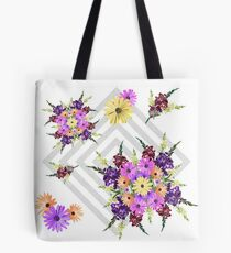 Late Summer Medley on Grey Tote Bag