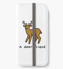 A Deer Friend iPhone Wallet/Case/Skin