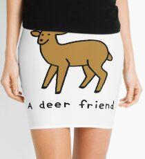 A Deer Friend Mini Skirt