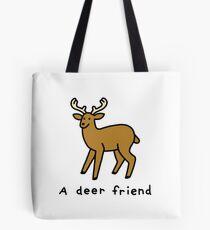 A Deer Friend Tote Bag