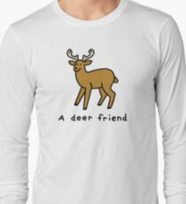 A Deer Friend Long Sleeve T-Shirt