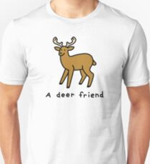 A Deer Friend Slim Fit T-Shirt