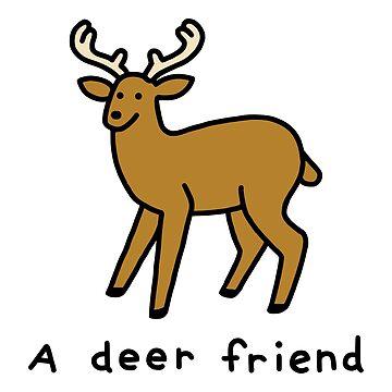 Un amigo ciervo de obinsun