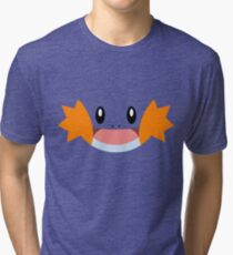 Pokemon - Mudkip / Mizugorou Tri-blend T-Shirt