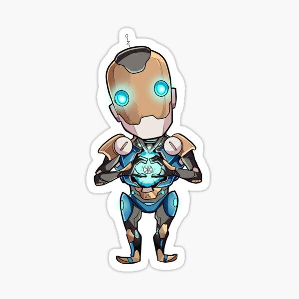 Robot Full of Feeling Sticker