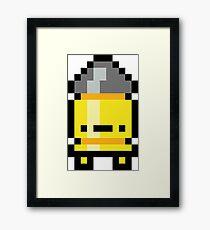 Pixel Bullet Kin Framed Print