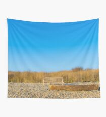 Bench | Montauk Point, New York Wall Tapestry