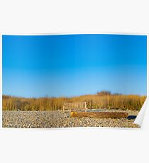 Bench | Montauk Point, New York Poster