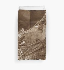 The Valley of Ashes - The Great Gatsby Duvet Cover