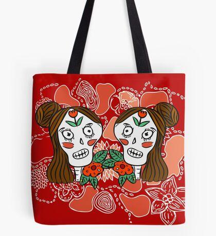 Calavera Sisters Frenchtoastygood Tote Bag