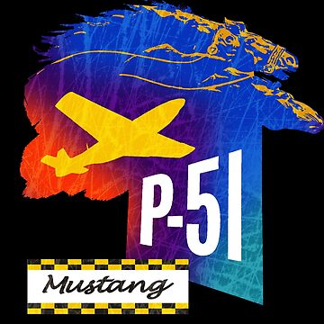 P51 Mustang Fighter USA by midcenturydave