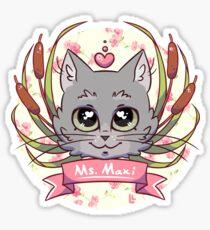 Maxi Kitty Sticker