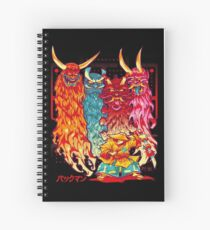 PAKKU-MAN Spiral Notebook