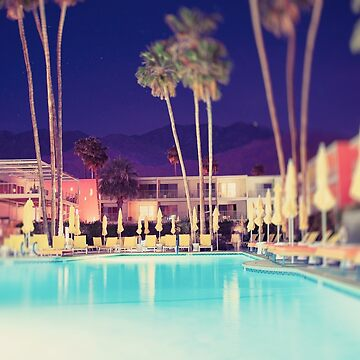 Palm Springs Print, Photo, Extra Large, Wall Art, Los Angeles Print ,Modern Urban Décor, Urban Photography, California Décor, by CaliforniaPhoto