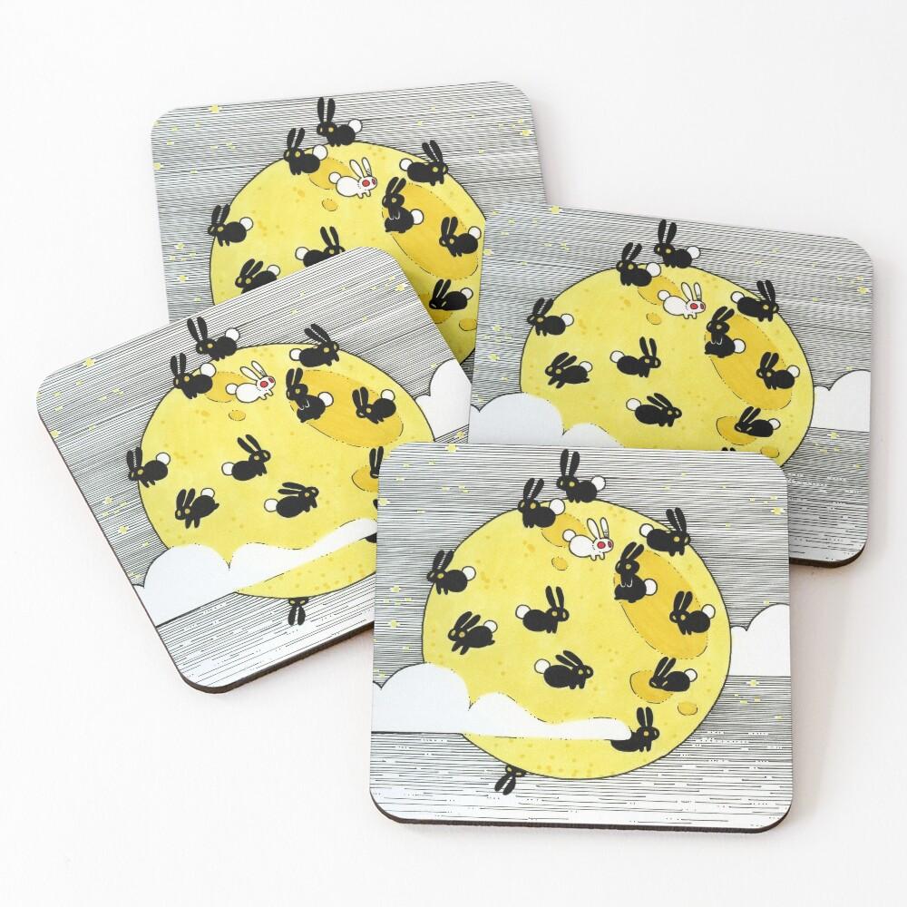 YELLOW Coasters (Set of 4)