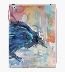 old crow iPad Case/Skin