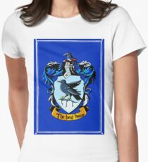 ravenclaw stickers Women's Fitted T-Shirt