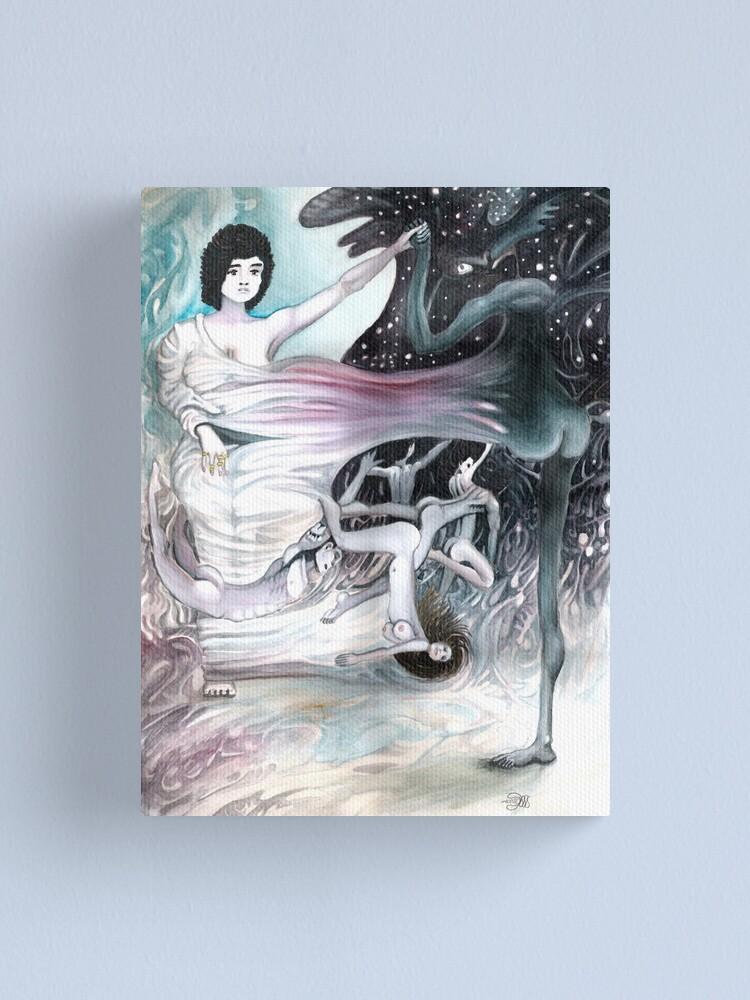 Alternate view of Dusk by Davol White Canvas Print