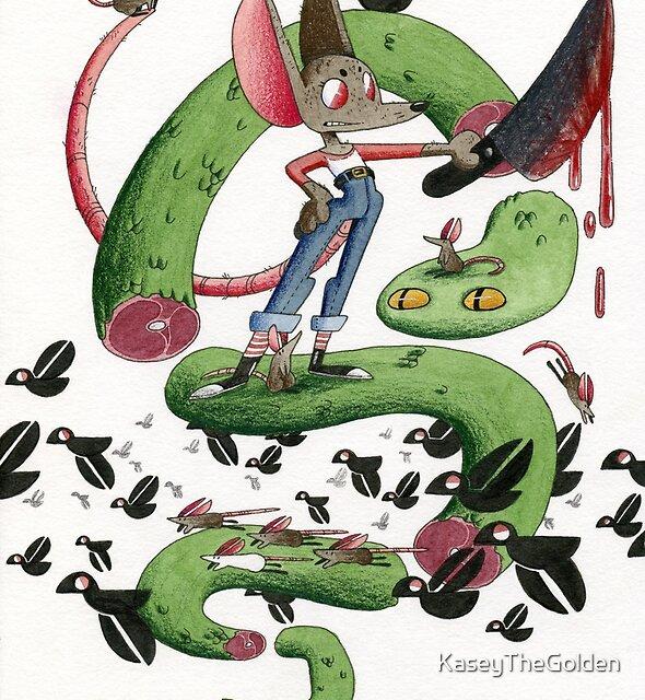 Slice the Snake by KaseyTheGolden