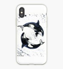 Orcas iPhone Case