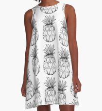 Just add Colour - Love Pineapple! A-Line Dress
