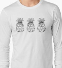Just add Colour - Love Pineapple! Long Sleeve T-Shirt