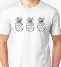Just add Colour - Love Pineapple! Slim Fit T-Shirt