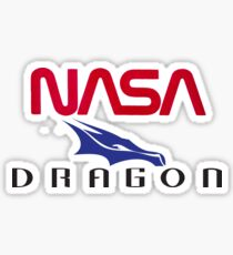 NASA Dragon Shuttle Sticker