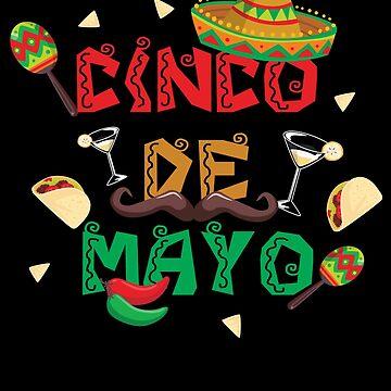 Cinco De Mayo Fiesta Design by Poxiel