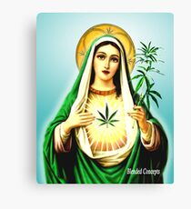 Mother Mary Jane Canvas Print