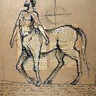 Centaur  by Michele Meister