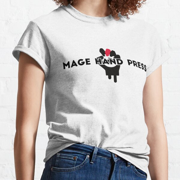 Mage Hand Press Name and Logo Classic T-Shirt