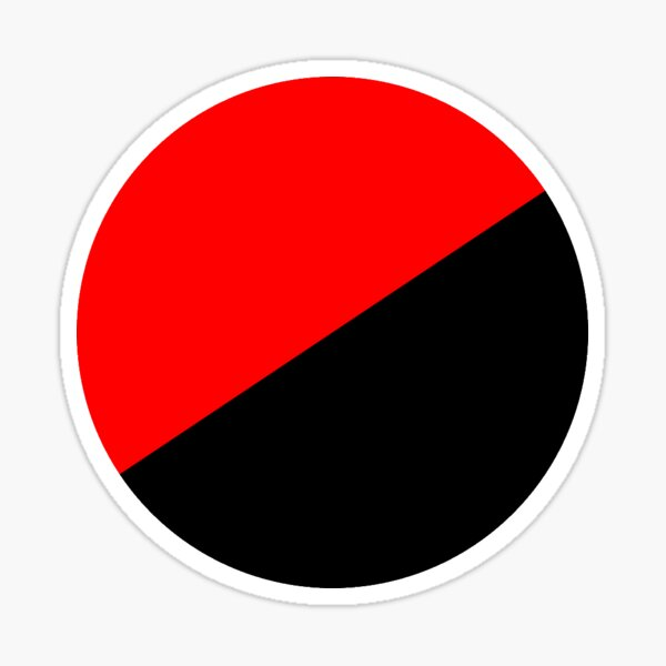 Ronda anarquista Pegatina