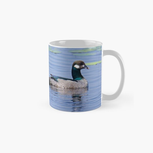 NT ~ WATERFOWL ~ Green Pygmy Goose by David irwin Classic Mug