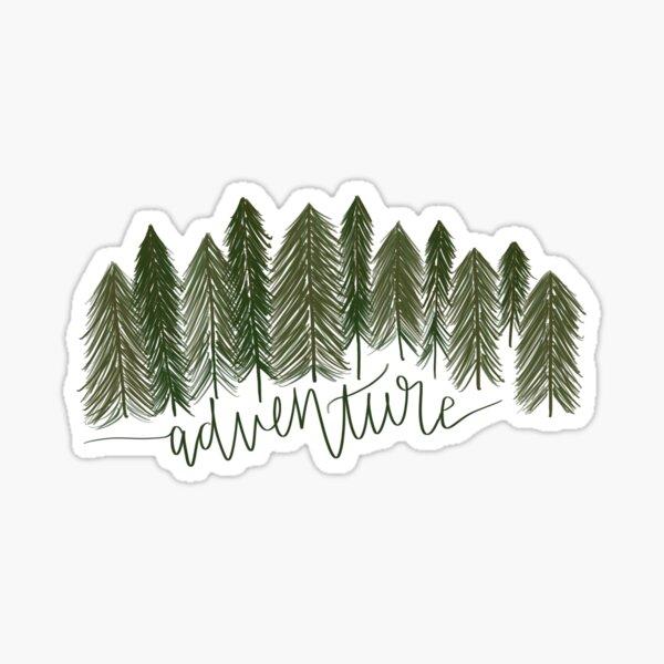 Pine Tree Adventure Sticker Sticker