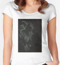 """Buddah"" Women's Fitted Scoop T-Shirt"
