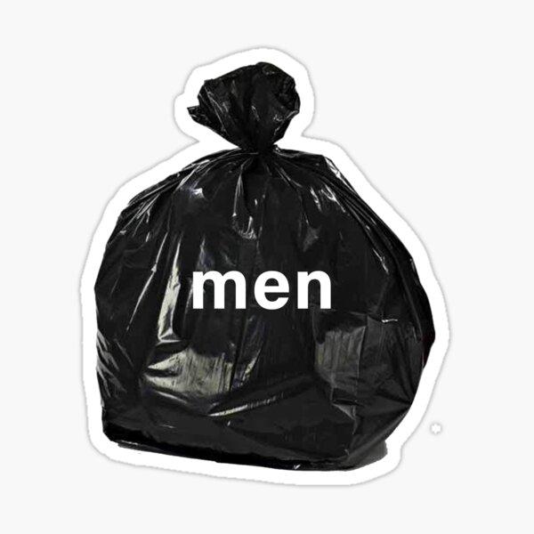 Men Are Trash Sticker