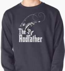The Rodfather Fishing T Shirt Pullover
