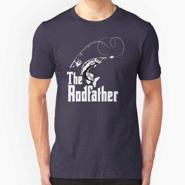 The Rodfather Fishing T Shirt Slim Fit T-Shirt