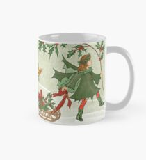 Holly Fairy Harvesting  Mug