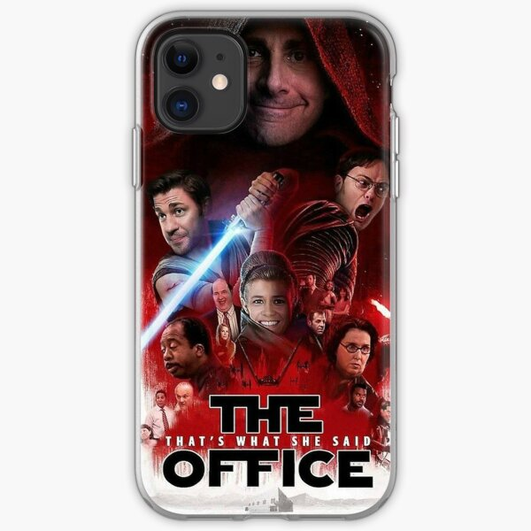 The Office - Star Wars iPhone Soft Case