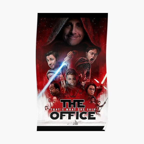 The Office - Star Wars Poster